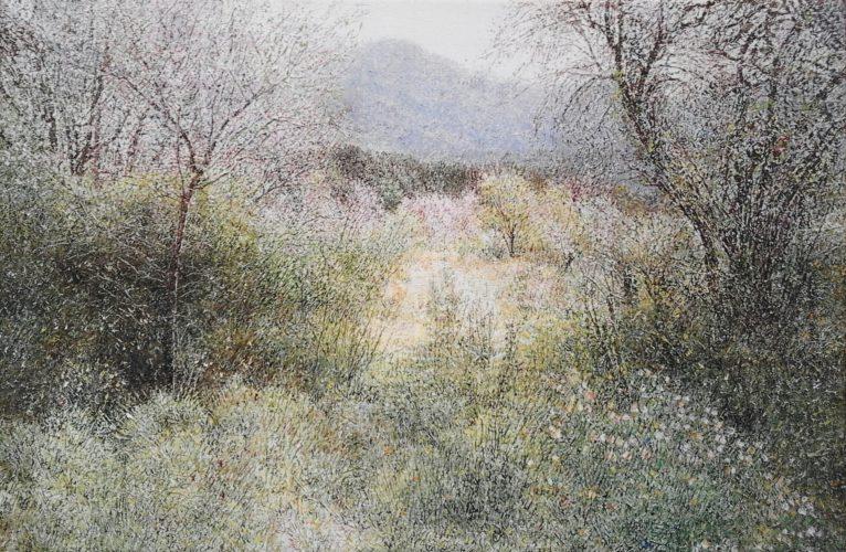 Ana Brígida. Pintora. Galería García de Diego. Los Llanos de Aridane, La Palma, Canarias