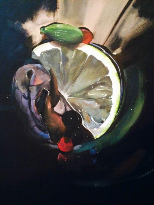 Exposición Cesar Rodriguez. Galería García de Diego. La Palma, canarias