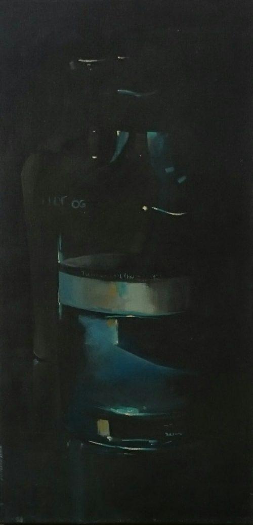 Exposición Cesar Rodriguez. Pintor canario. Galería García de Diego. La Palma, canarias