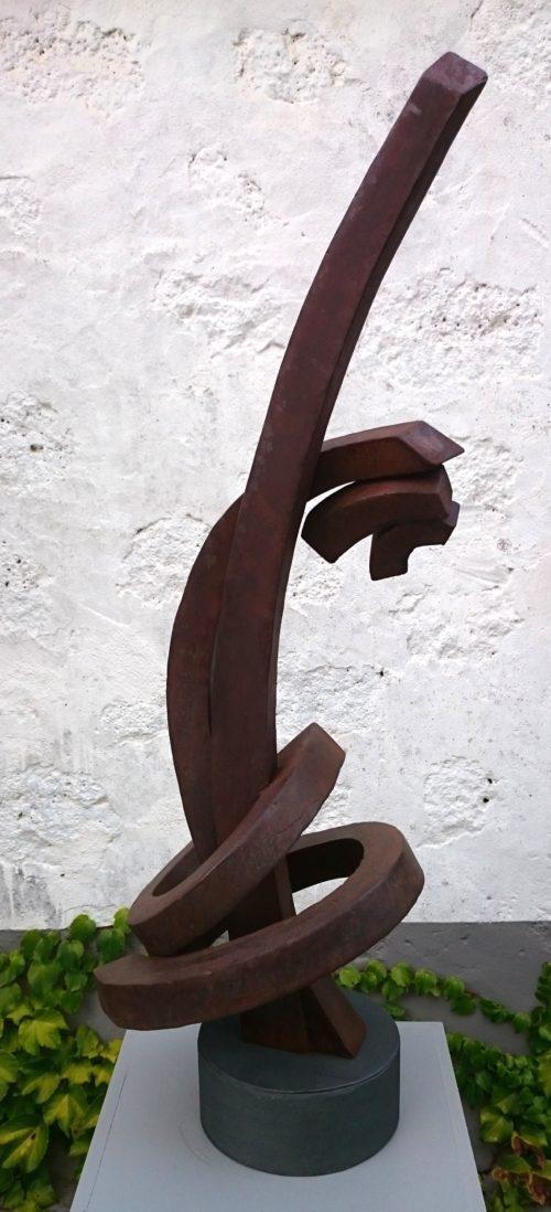 Pereda de castro, escultor. Galería García de Diego, Los Llanos de aridane. Canarias