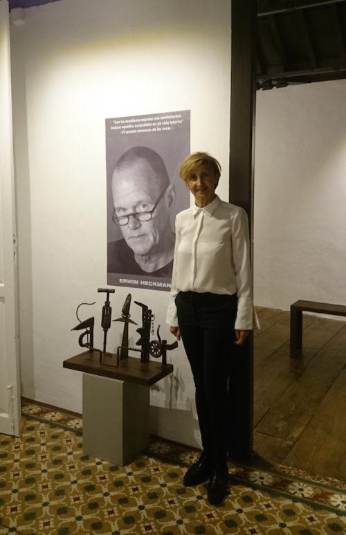 exposición Erwin Heckmann en Los Llanos de Aridane. Galería García de Diego, canarias