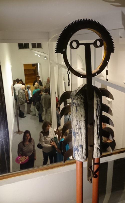 exposición en Los Llanos de Aridane. Galería García de Diego, canarias