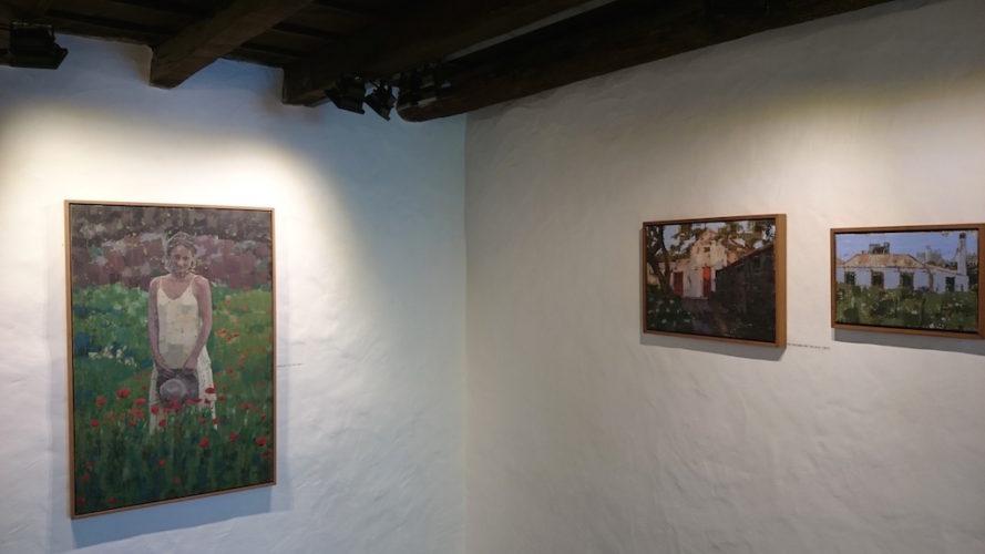 Exposición Pedro Fausto. Artista canario. Galería de Arte García de Diego, los Llanos de Aridane, La Palma, Canarias