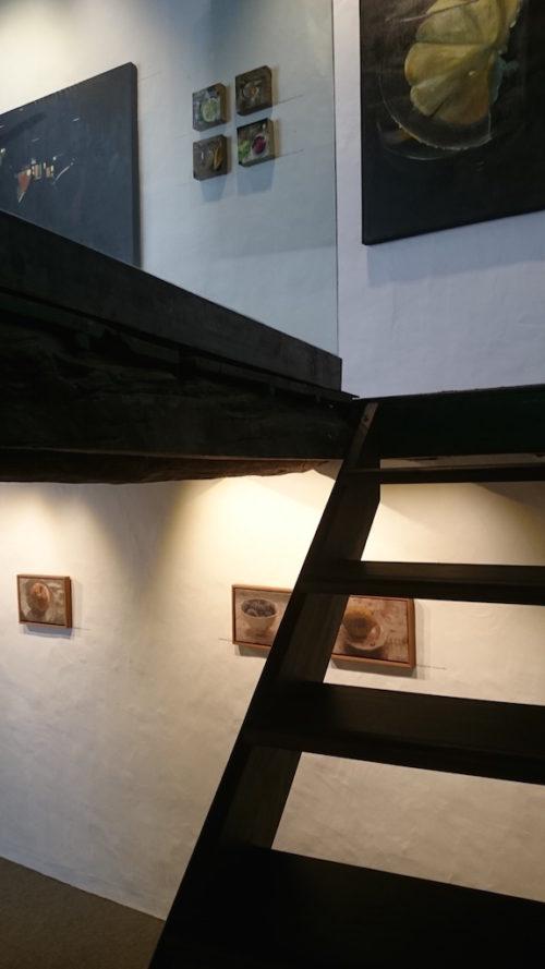 César Rodríguez y Pedro Fausto. Galería de arte García de Diego, los llanos de aridane, la palma, canarias