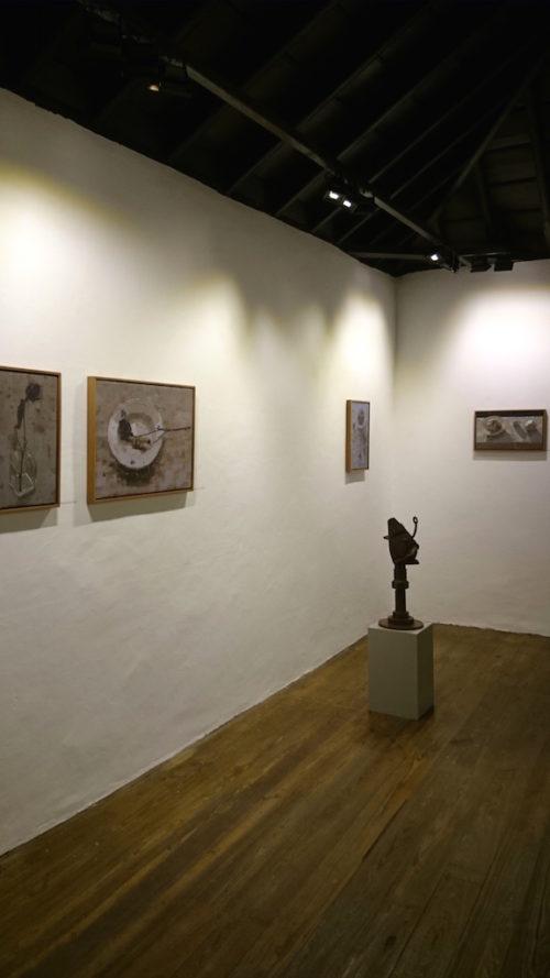 Pedro Fausto y Erwin Heckmann. Exposición en la galería de arte garcía de diego, los llanos de aridane, islas canarias