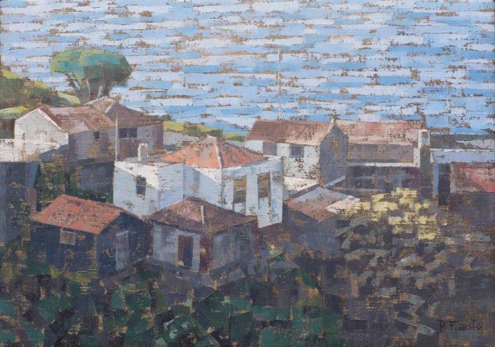 """Pedro Fausto. Pintor. """"El Tablado"""". Exposición en Galería García de Diego. La Palma, canarias"""