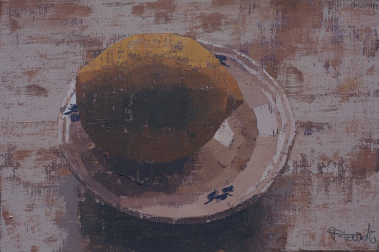 Pedro Fausto. Pintor. Limón. Exposición en Galería García de Diego. La Palma, canarias
