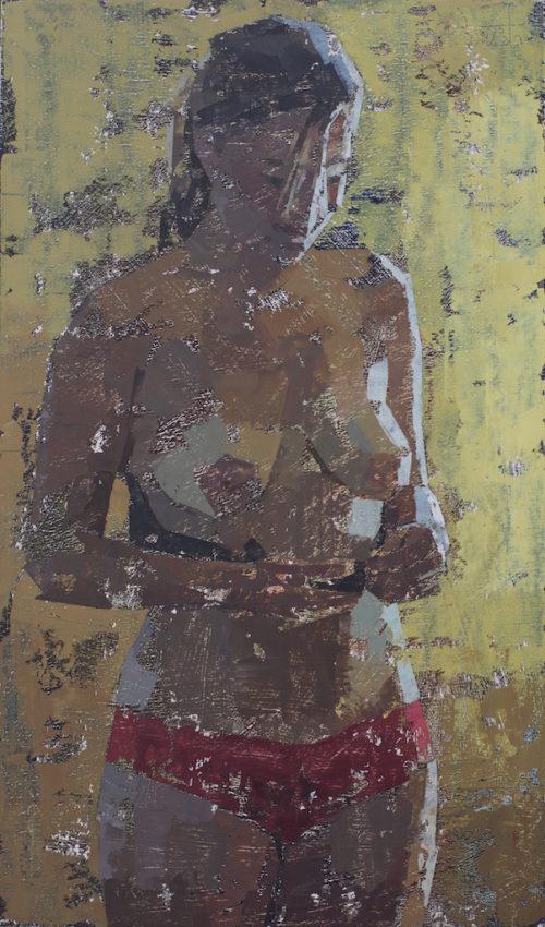 Pedro Fausto. Pintor. Mujer. Exposición en Galería García de Diego. La Palma, canarias