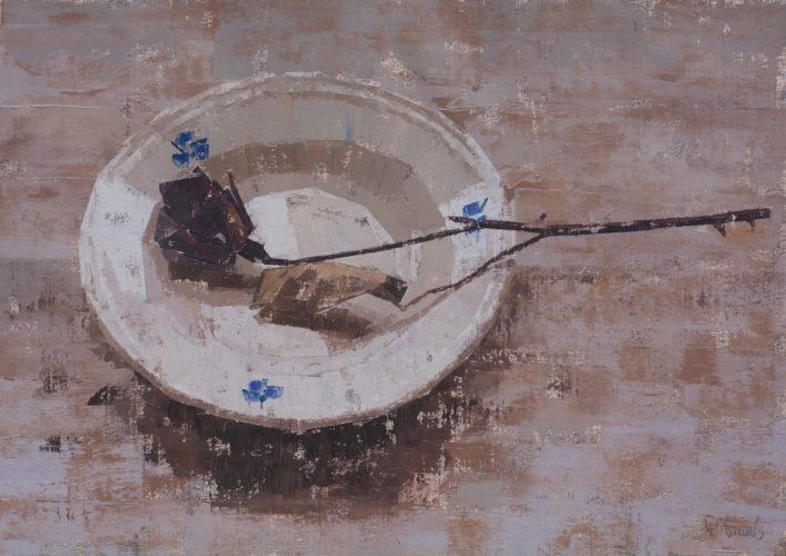 Pedro Fausto. Pintor canario. Exposición en Galería García de Diego. La Palma, canarias