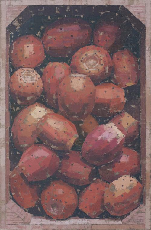 Pedro Fausto. Pintor. Exposición en Galería García de Diego. La Palma, canarias