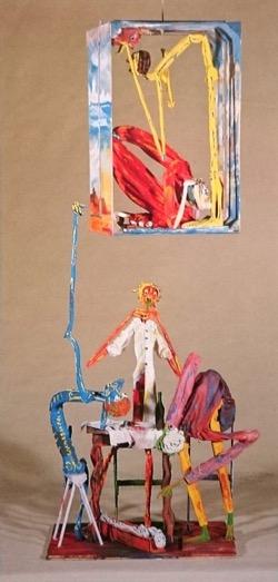 Cielo Final. Hugo Pitti. exposición en Galería García de Diego, La Palma, canarias