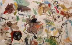 Matías Sánchez. Pintor. DOMINGO POR LA MAÑANA. 2016. Óleo sobre tela. 97 x 130 cm. Precio. 4.000 € (más impuestos) copia