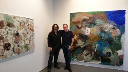 Exposición Matías Sánchez en la Galería de Arte García de Diego, islas canarias