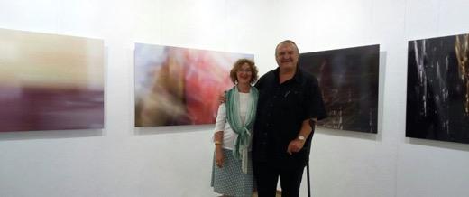 galeriagarciadediego-visita-exposicion-Helmut Kiesewetter