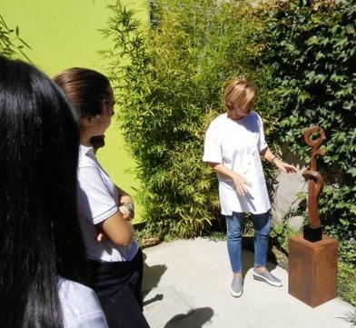 Foto2 visita colegio Nazaret 4º ESO 22 Sept